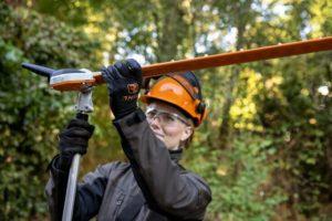 STIHL HLA 135 long-reach hedge trimmer