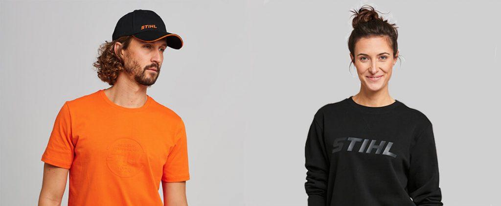 STIHL Baseball Cap and STIHL Sweatshirt