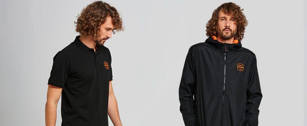STIHL Polo Shirt and STIHL Windcheater