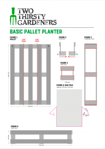 two thirsty gardeners pallet planter guide