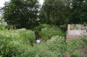 fordbridge fire station create well being garden with STIHL petrol tools
