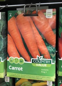 july is the last chance to sow carrots