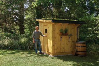 how to secure your garden shed