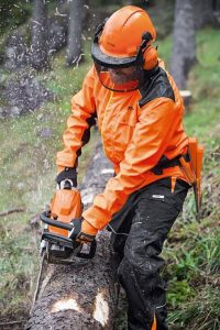 STIHL Duroflex jacket can be used with all our forestry tools