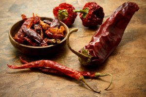 how to dry out chillies